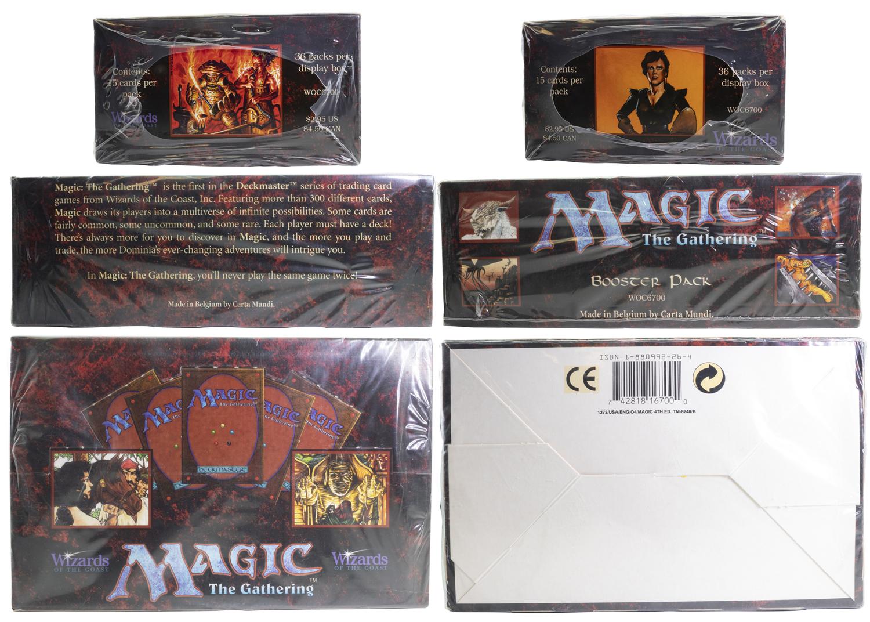 Unique image for Fourth Edition - Booster Box
