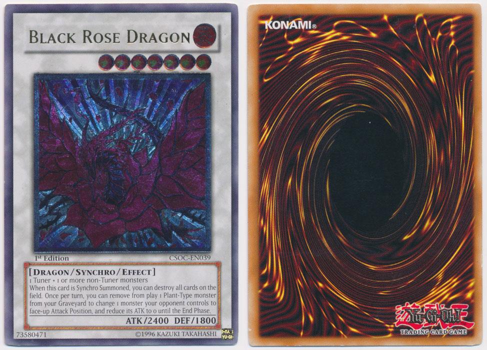 Unique image for Black Rose Dragon (Ultimate Rare)