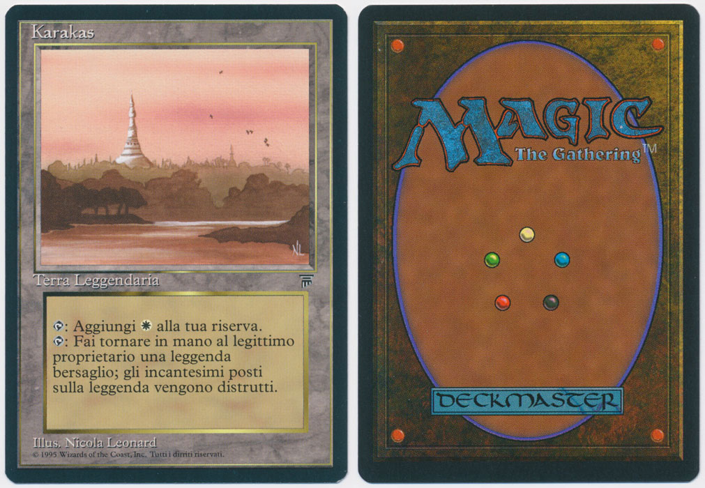 Unique image for Karakas (Italian)