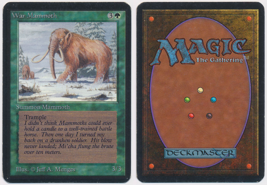 Unique image for War Mammoth