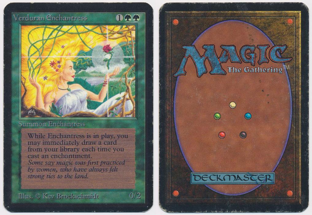 Unique image for Verduran Enchantress