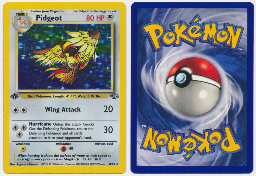 Unique image for Pidgeot - 8/64