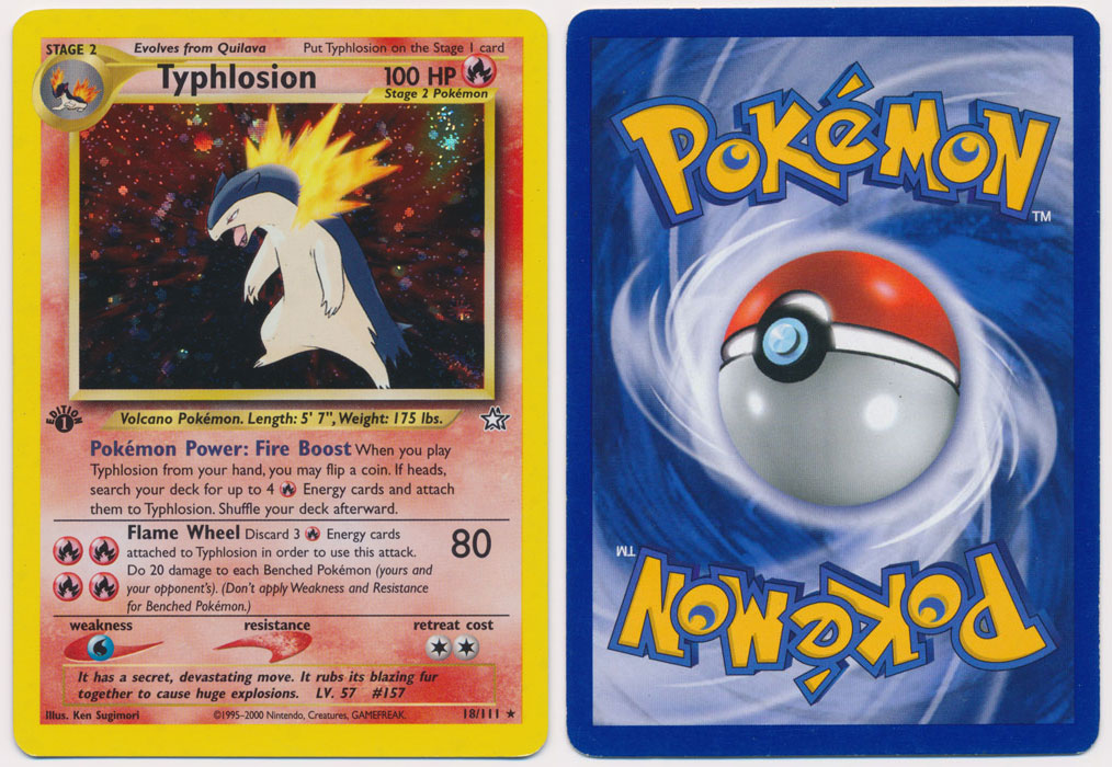Unique image for Typhlosion - 18/111