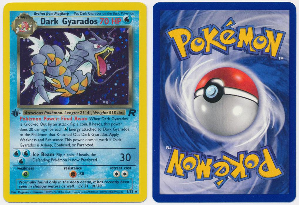 Unique image for Dark Gyarados - 8/82