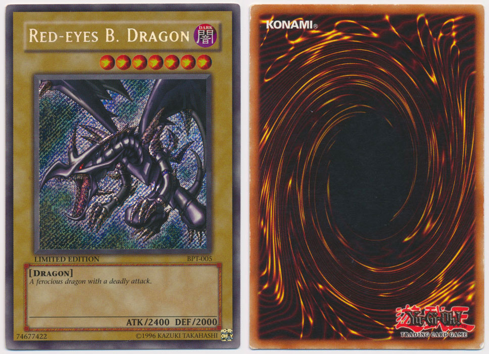 Unique image for Red-Eyes B. Dragon