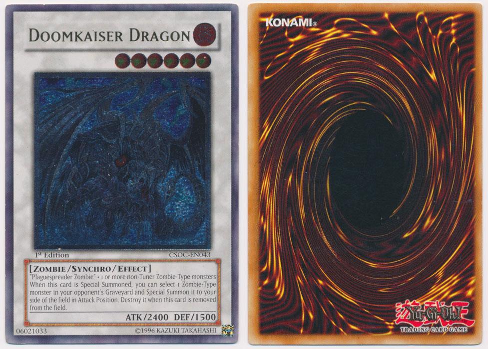 Unique image for Doomkaiser Dragon (Ultimate Rare)
