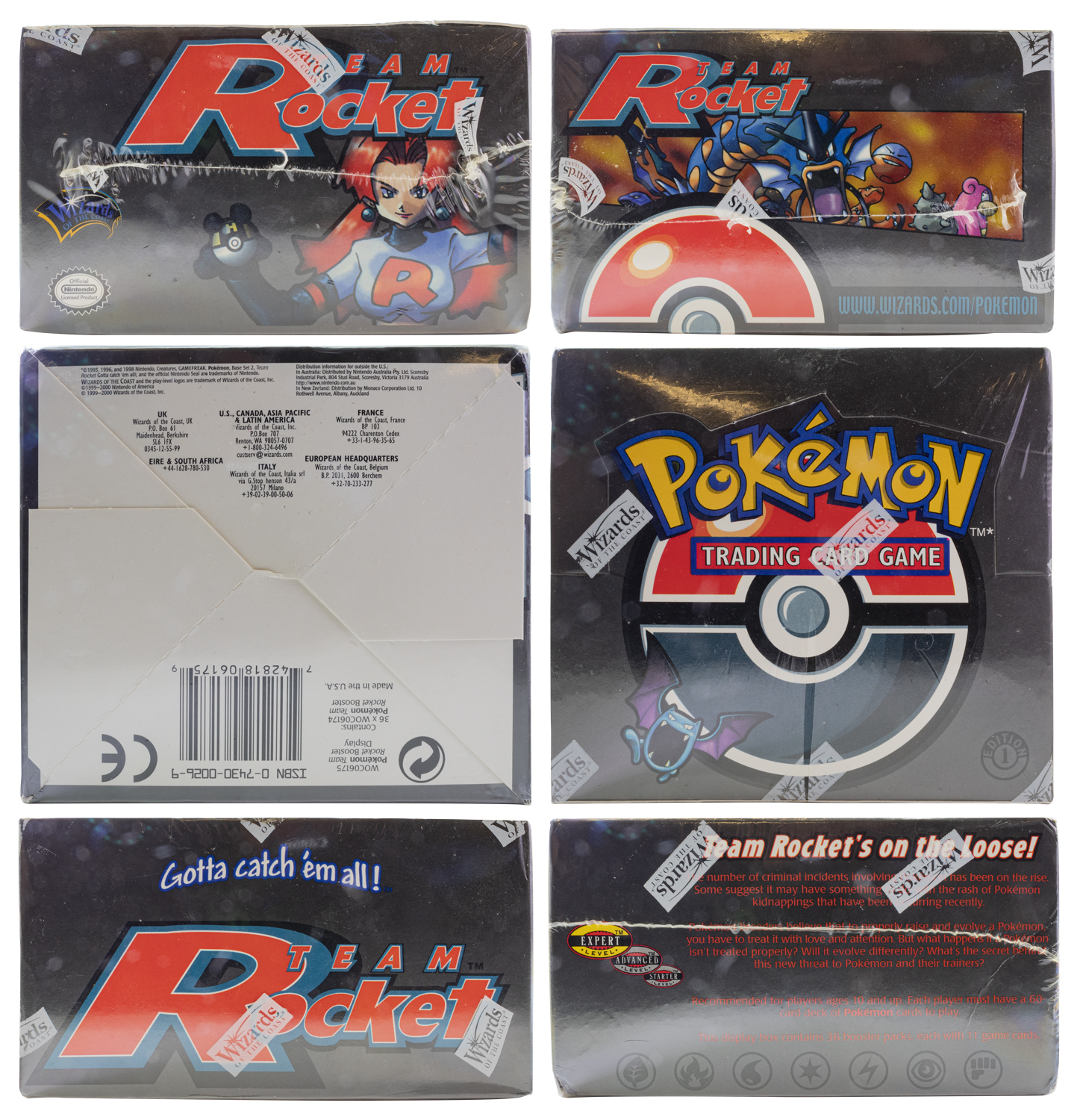 Unique image for Pokemon - Team Rocket - First Edition Booster Box