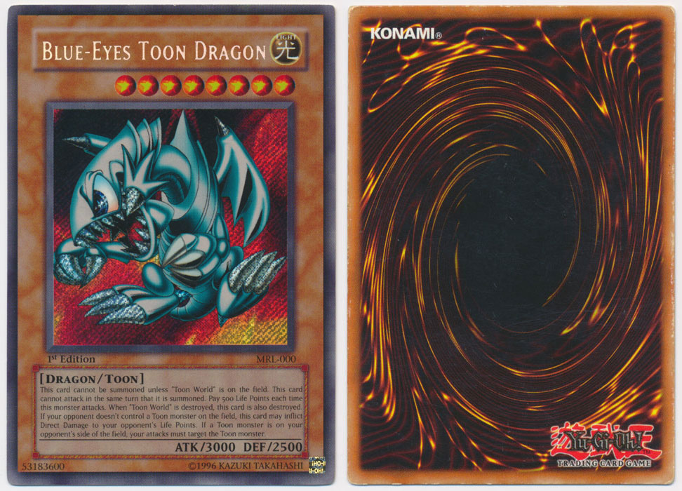 Unique image for Blue-Eyes Toon Dragon