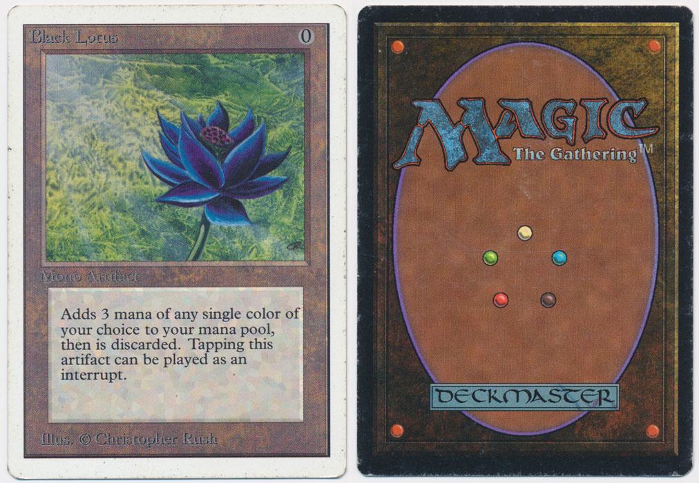 Unique image for Black Lotus