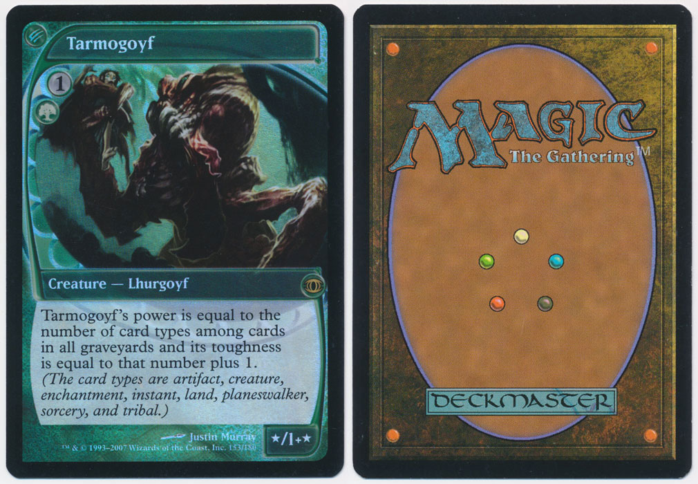 Unique image for Tarmogoyf