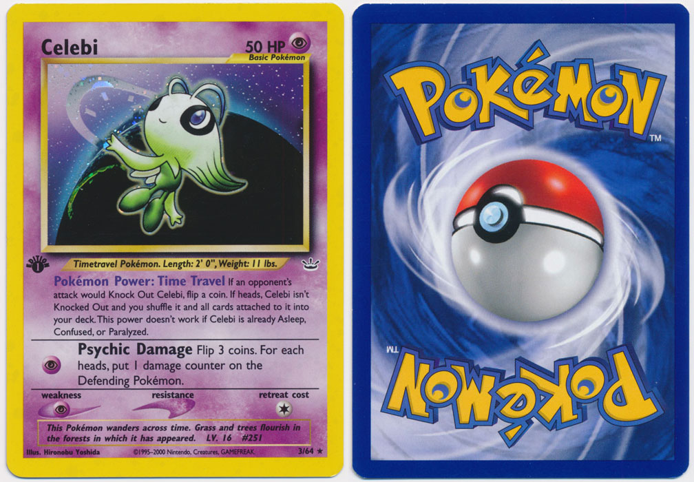 Unique image for Celebi - 3/64