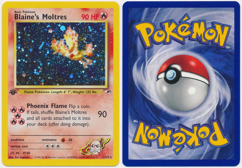 Unique image for Blaine's Moltres - 1/132
