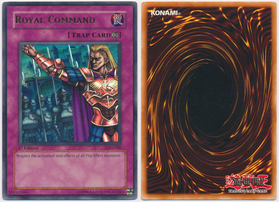 Unique image for Royal Command