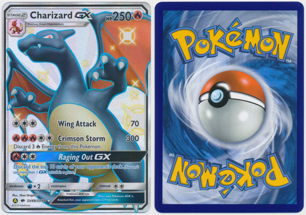 Unique image for Charizard-GX (Shiny) - SV49/SV94