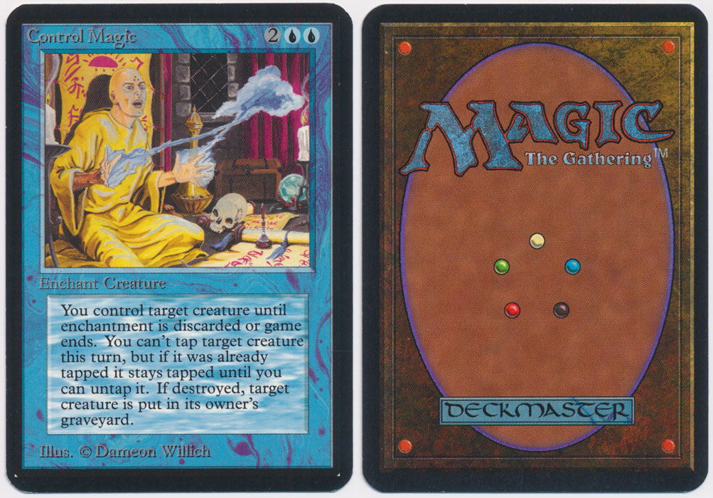 Unique image for Control Magic