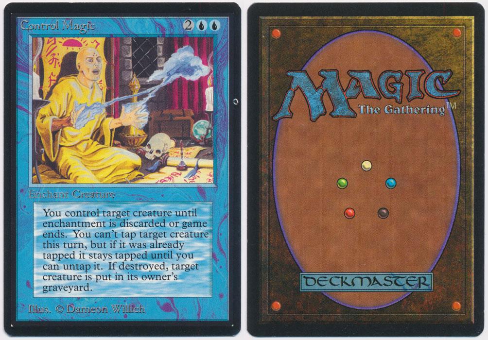 Unique image for Control Magic