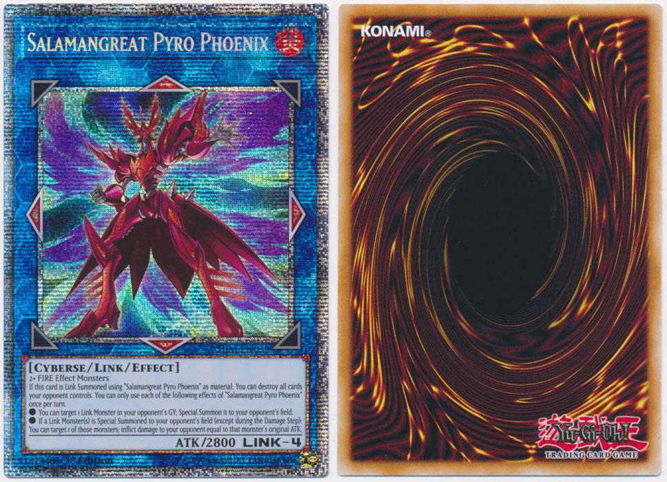 Unique image for Salamangreat Pyro Phoenix