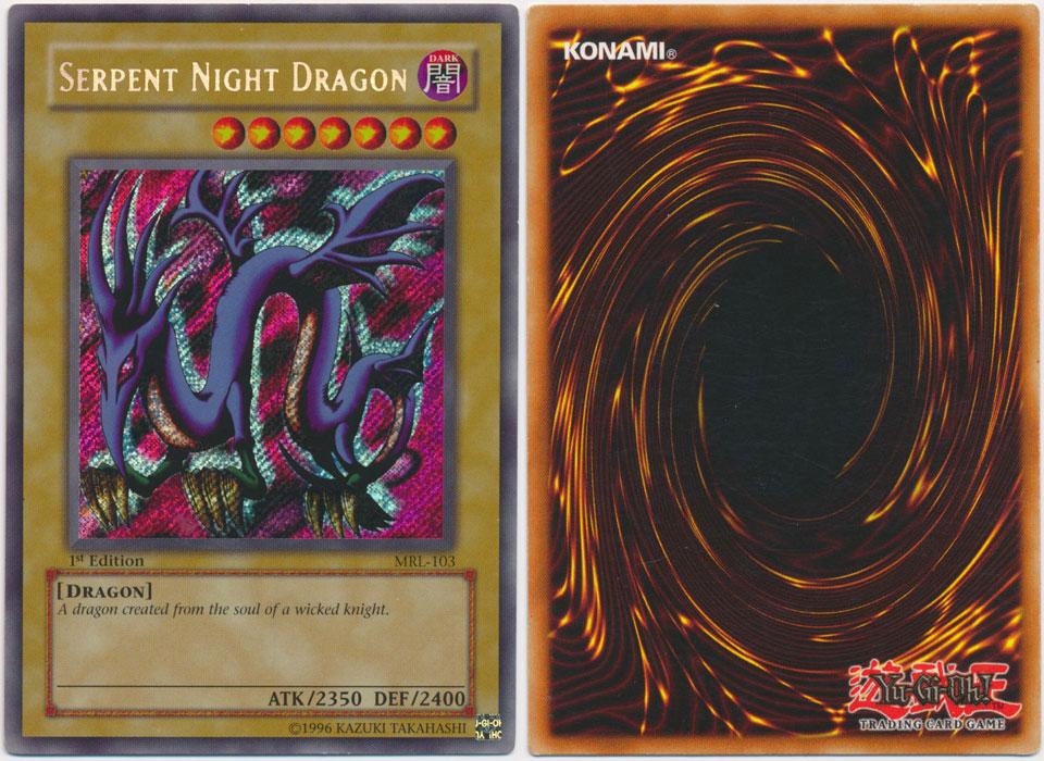 Unique image for Serpent Night Dragon