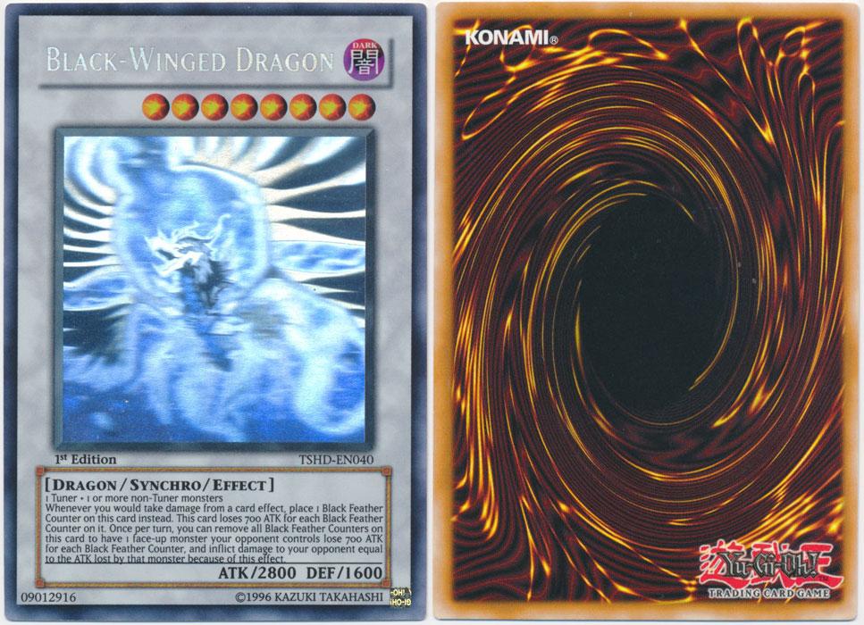 Unique image for Black-Winged Dragon (Ghost Rare)