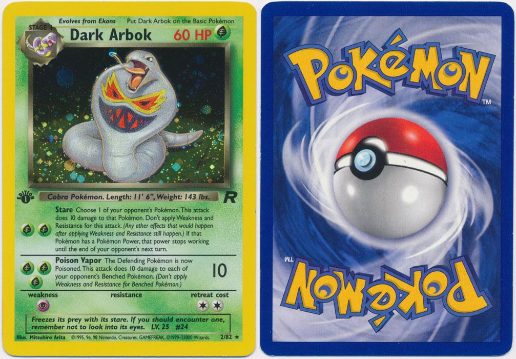 Unique image for Dark Arbok - 2/82