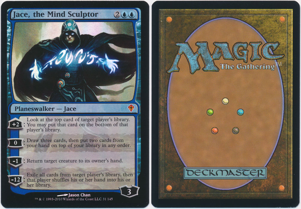 Unique image for Jace, the Mind Sculptor