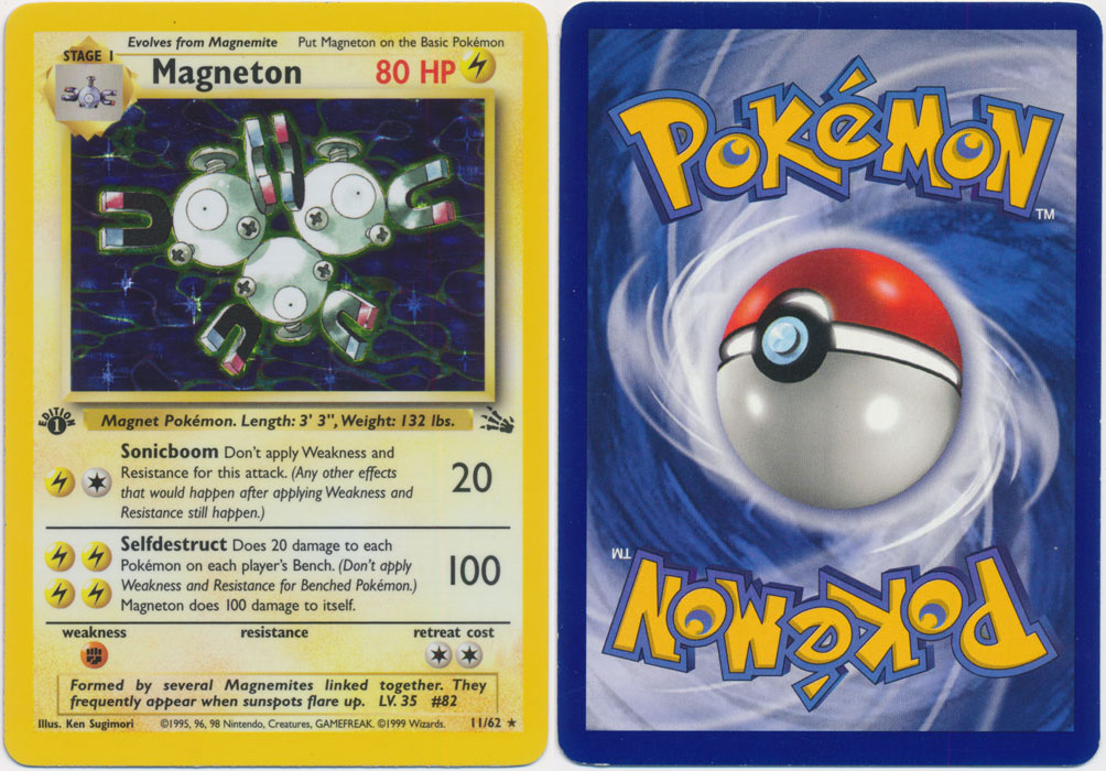 Unique image for Magneton - 11/62
