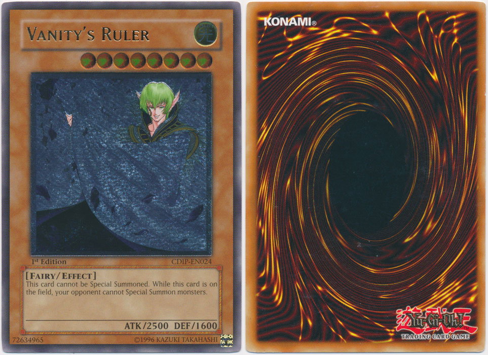 Unique image for Vanity's Ruler (Ultimate Rare)