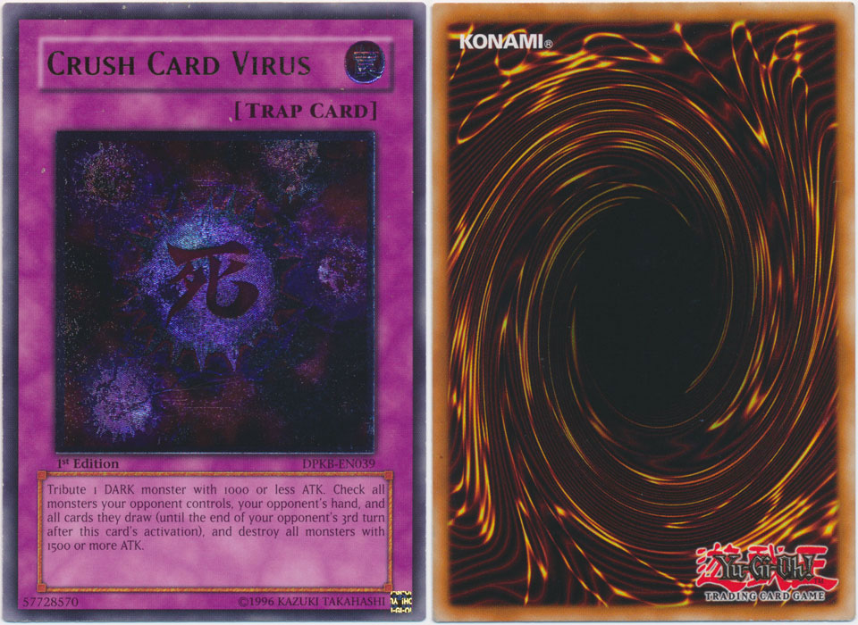 Unique image for Crush Card Virus
