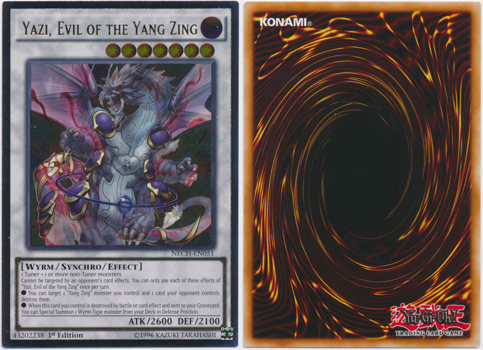 Unique image for Yazi, Evil of the Yang Zing (Ultimate Rare)