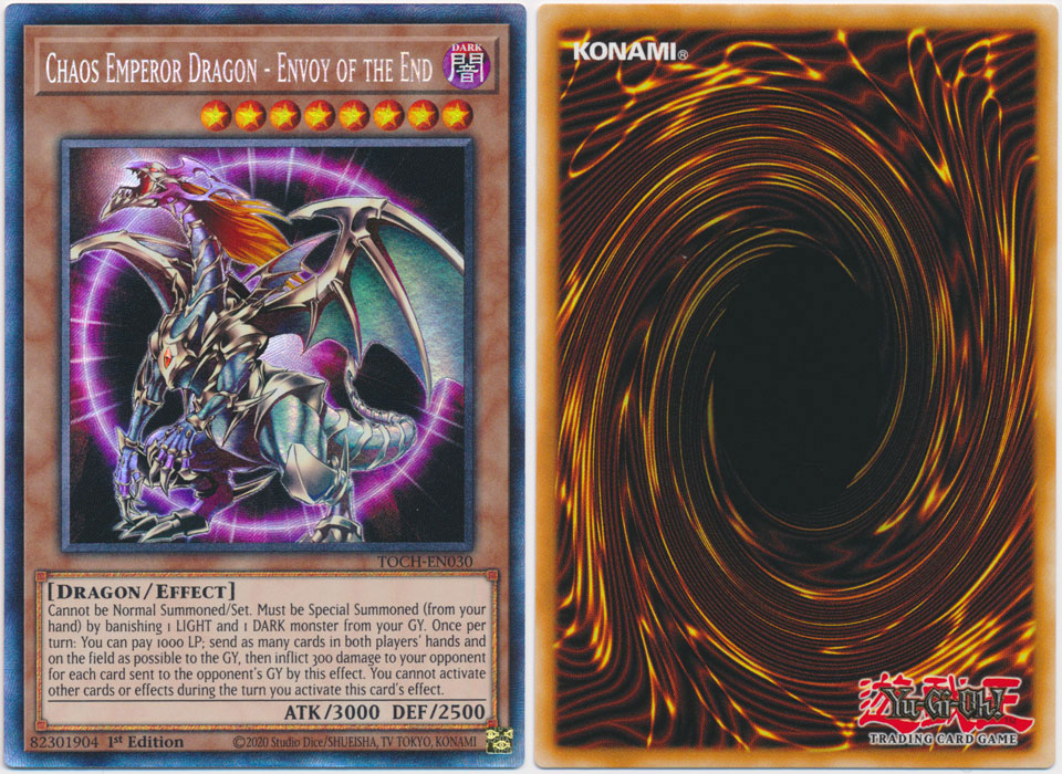 Unique image for Chaos Emperor Dragon  Envoy of the End (1st Ed.)