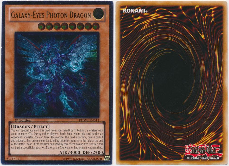 Unique image for Galaxy-Eyes Photon Dragon (Ultimate Rare)