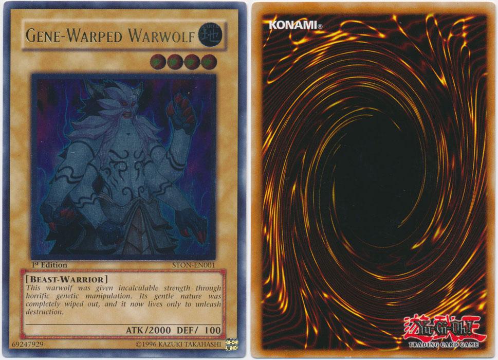 Unique image for Gene-Warped Warwolf (Ultimate Rare)