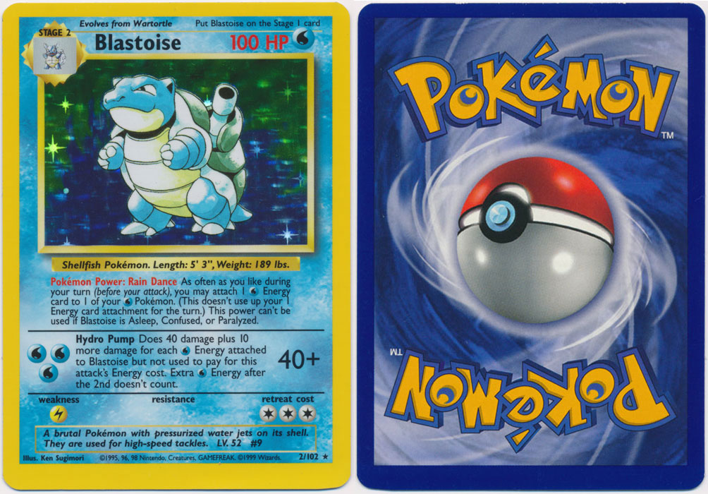 Unique image for Blastoise - 2/102
