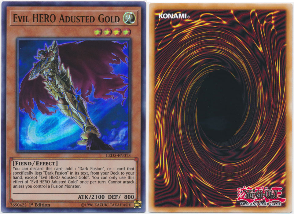 Unique image for Evil HERO Adusted Gold