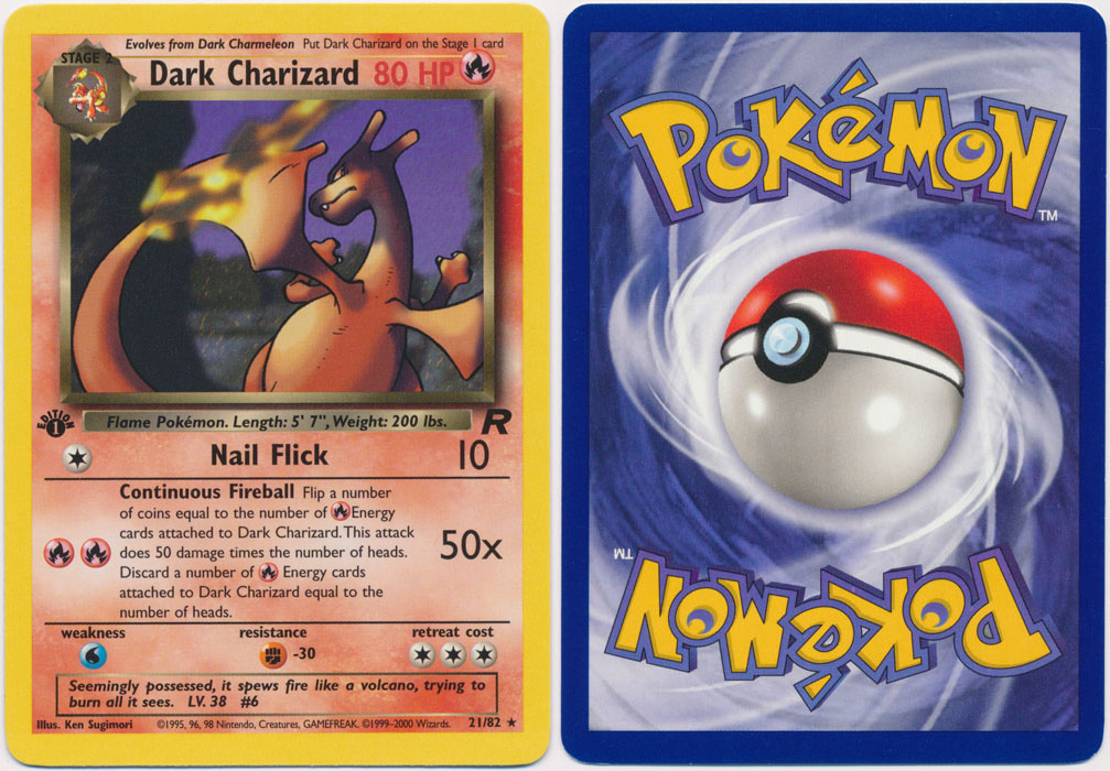 Unique image for Dark Charizard - 21/82