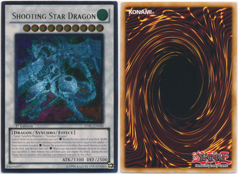 Unique image for Shooting Star Dragon (Ultimate Rare)