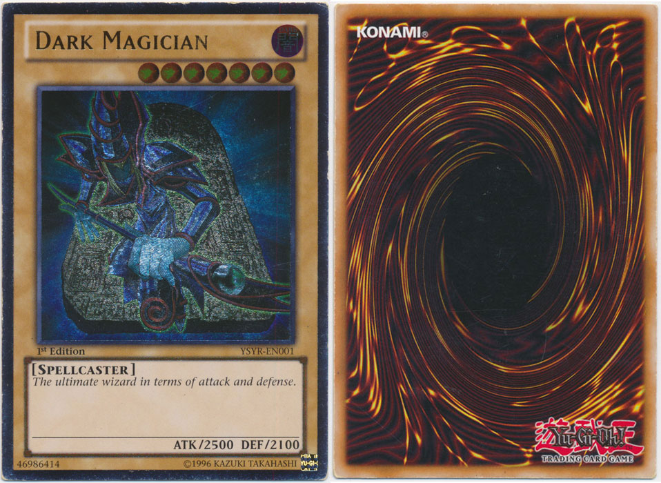 Unique image for Dark Magician