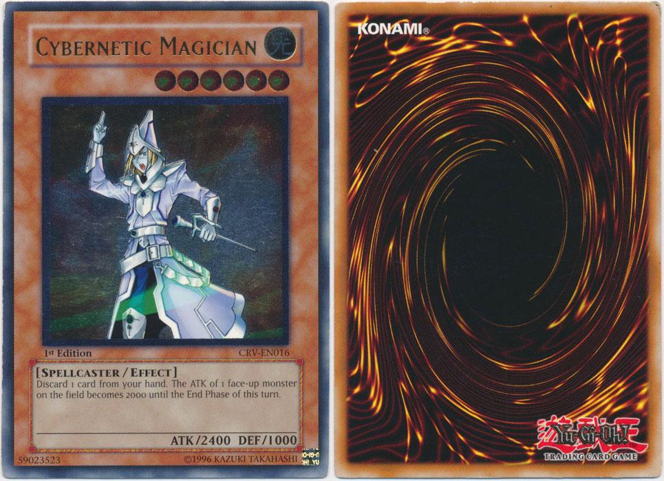 Unique image for Cybernetic Magician (Ultimate Rare)