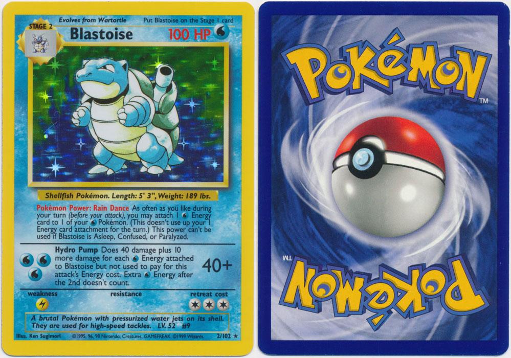 Unique image for Blastoise - 2/102