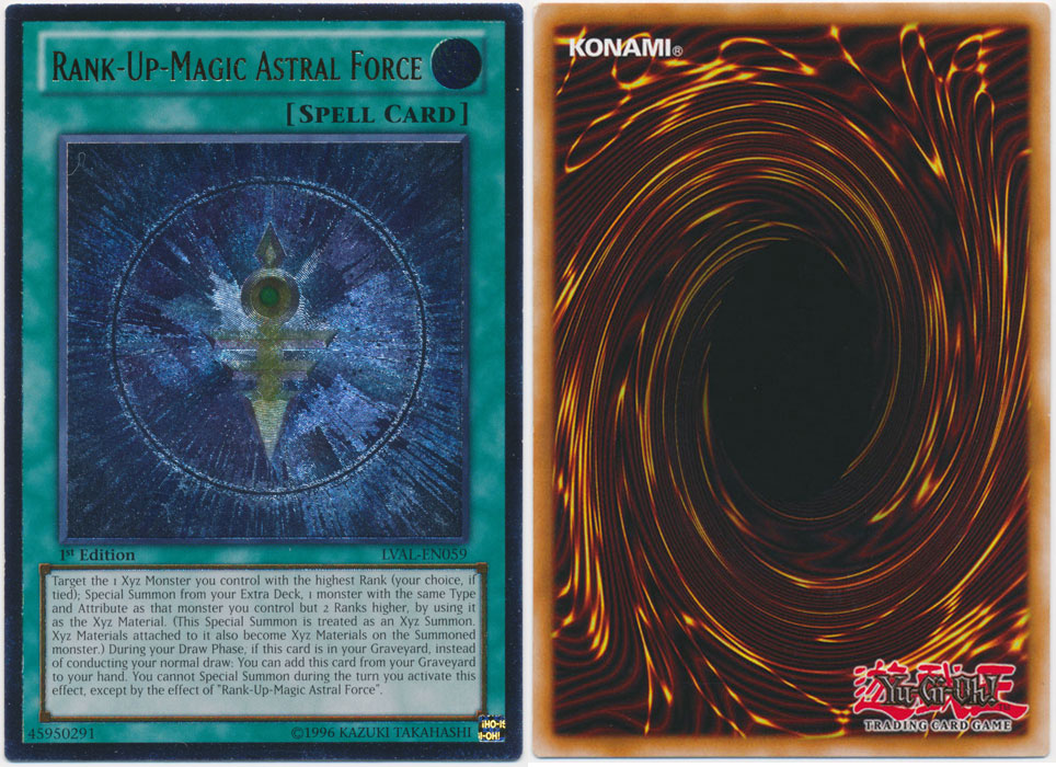 Unique image for Rank-Up-Magic Astral Force (Ultimate Rare)