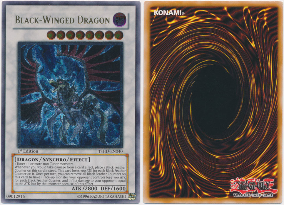 Unique image for Black-Winged Dragon (Ultimate Rare)