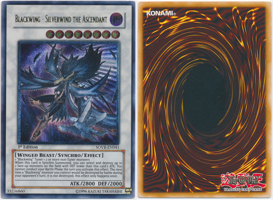 Unique image for Blackwing - Silverwind the Ascendant (Ultimate Rare)