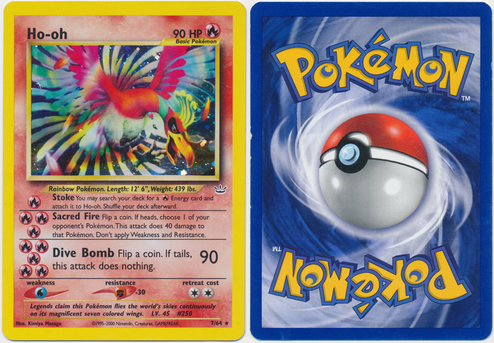 Unique image for Ho-oh - 7/64