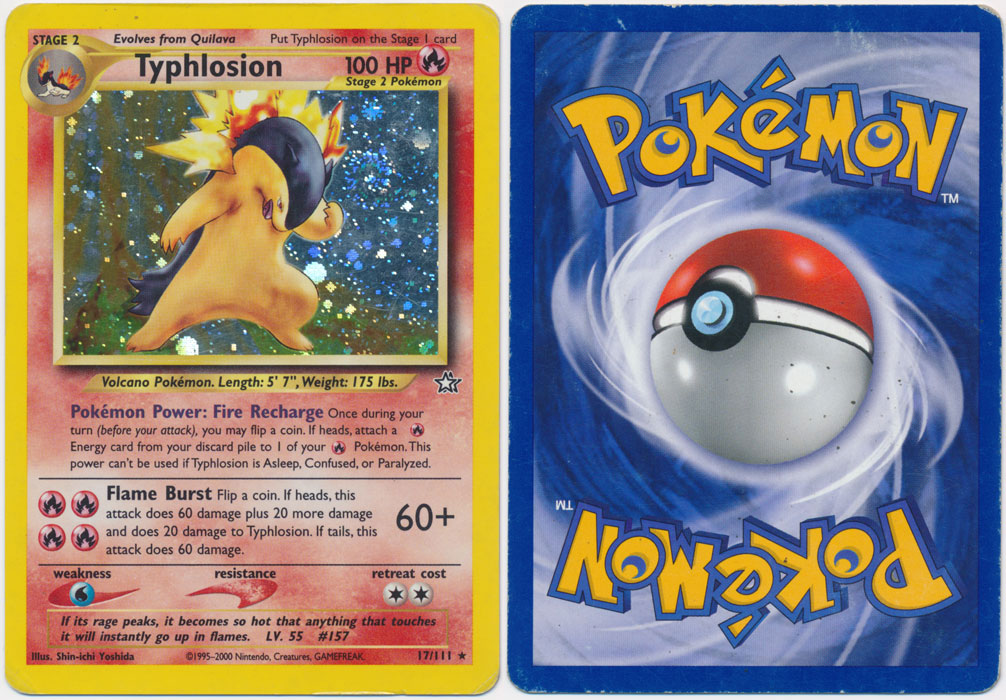 Unique image for Typhlosion - 17/111