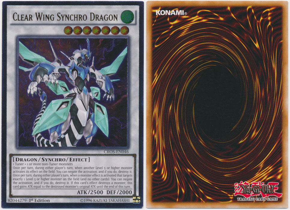 Unique image for Clear Wing Synchro Dragon (Ultimate Rare)