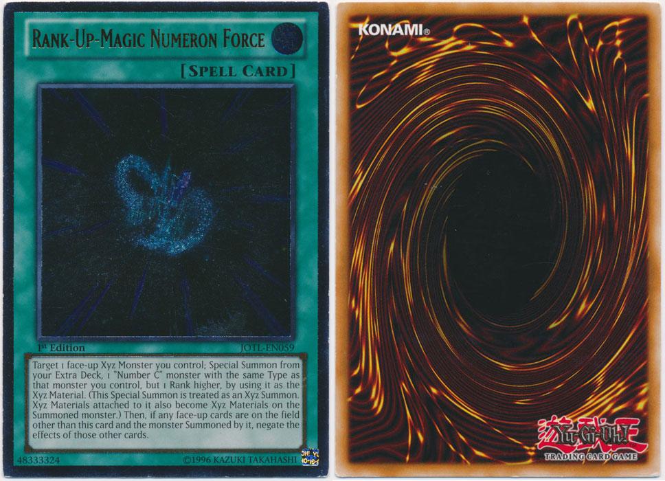 Unique image for Rank-Up-Magic Numeron Force (Ultimate Rare)