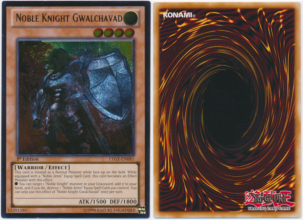 Unique image for Noble Knight Gwalchavad (Ultimate Rare)