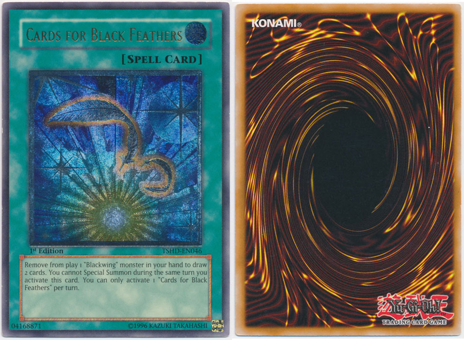 Unique image for Cards for Black Feathers (Ultimate Rare)