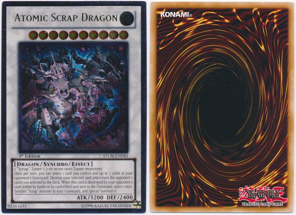 Unique image for Atomic Scrap Dragon (Ultimate Rare)