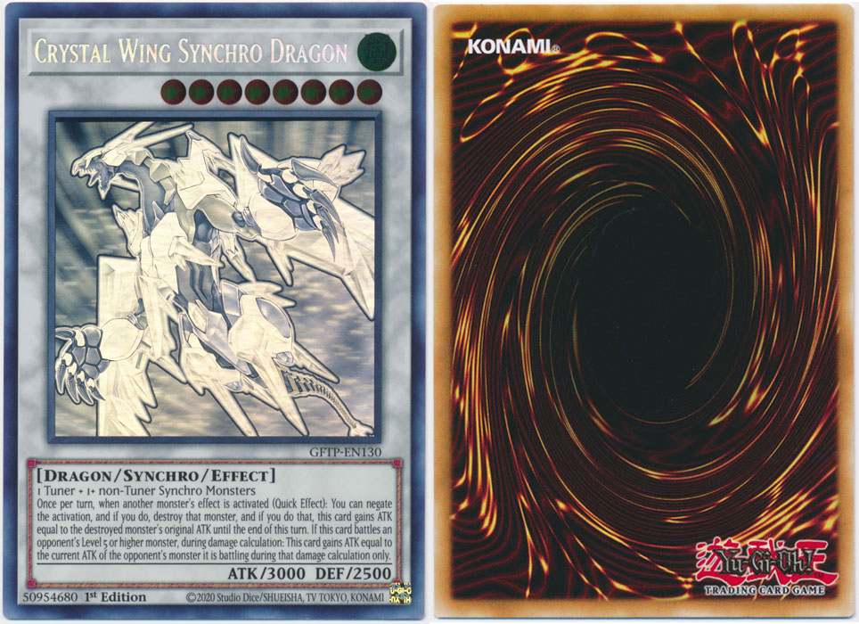 Unique image for Crystal Wing Synchro Dragon